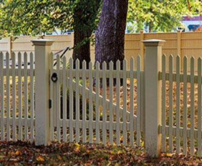 nantucket picket gate entrance gates wood gates and. Black Bedroom Furniture Sets. Home Design Ideas