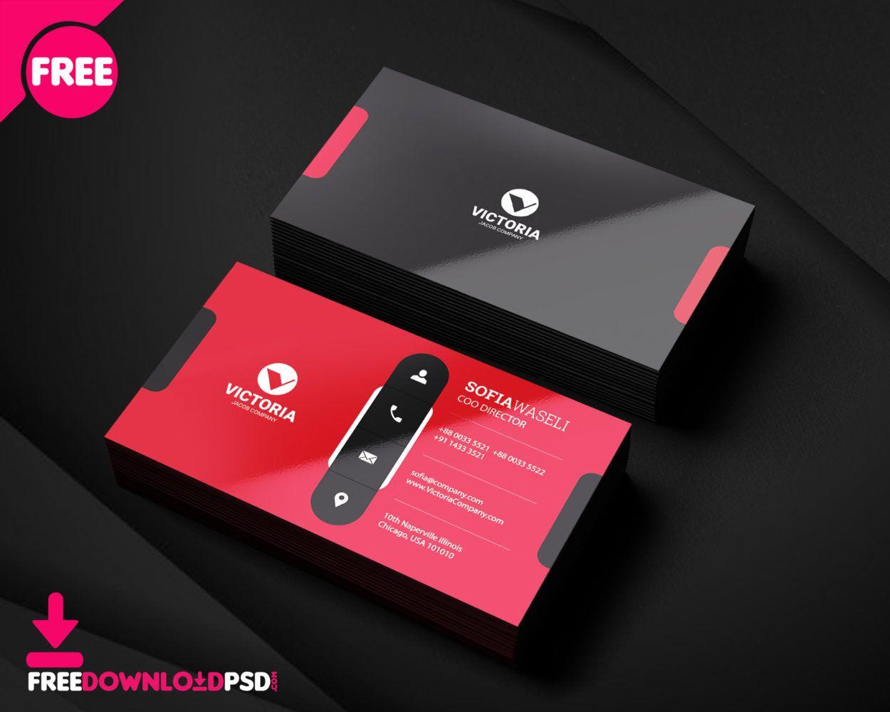 Premium Business Card Psd Free Business Card Templates Business Card Psd Business Card Template Psd