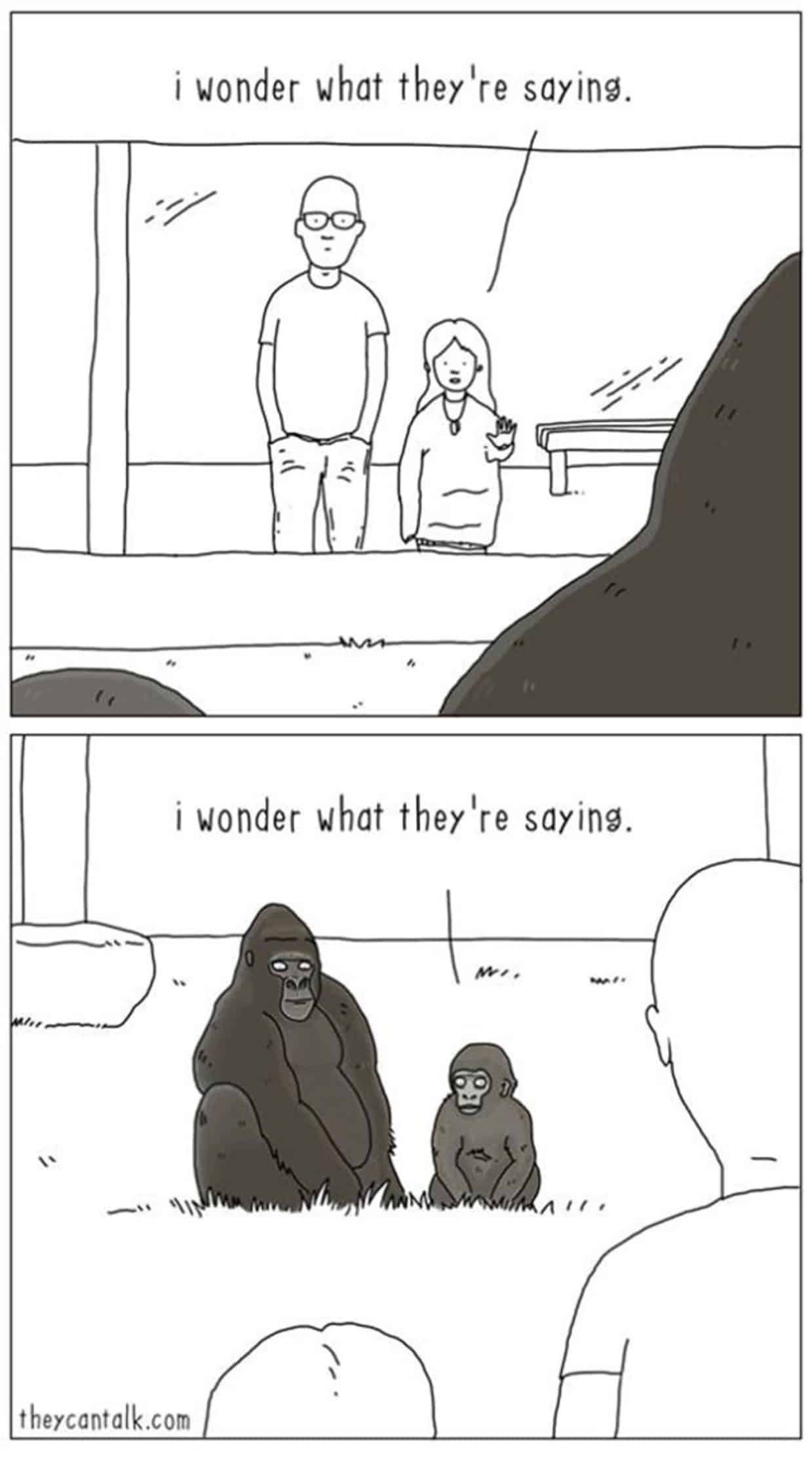 Funny Comics That Imagine What It Would Be Like If Animals - 20 funny comics that imagine what it would be like if animals could talk