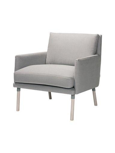 Moderni Lin on kevyt ja mukava nojatuoli, joka sopii monenlaisiin sisustuksiin. Tuolin on suunnitellut Petra Lassenius. Päällinen on puuvillaa (Medea), runko pu...
