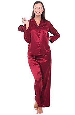 Del Rossa Women s Satin Pajamas fccb4dfbfe