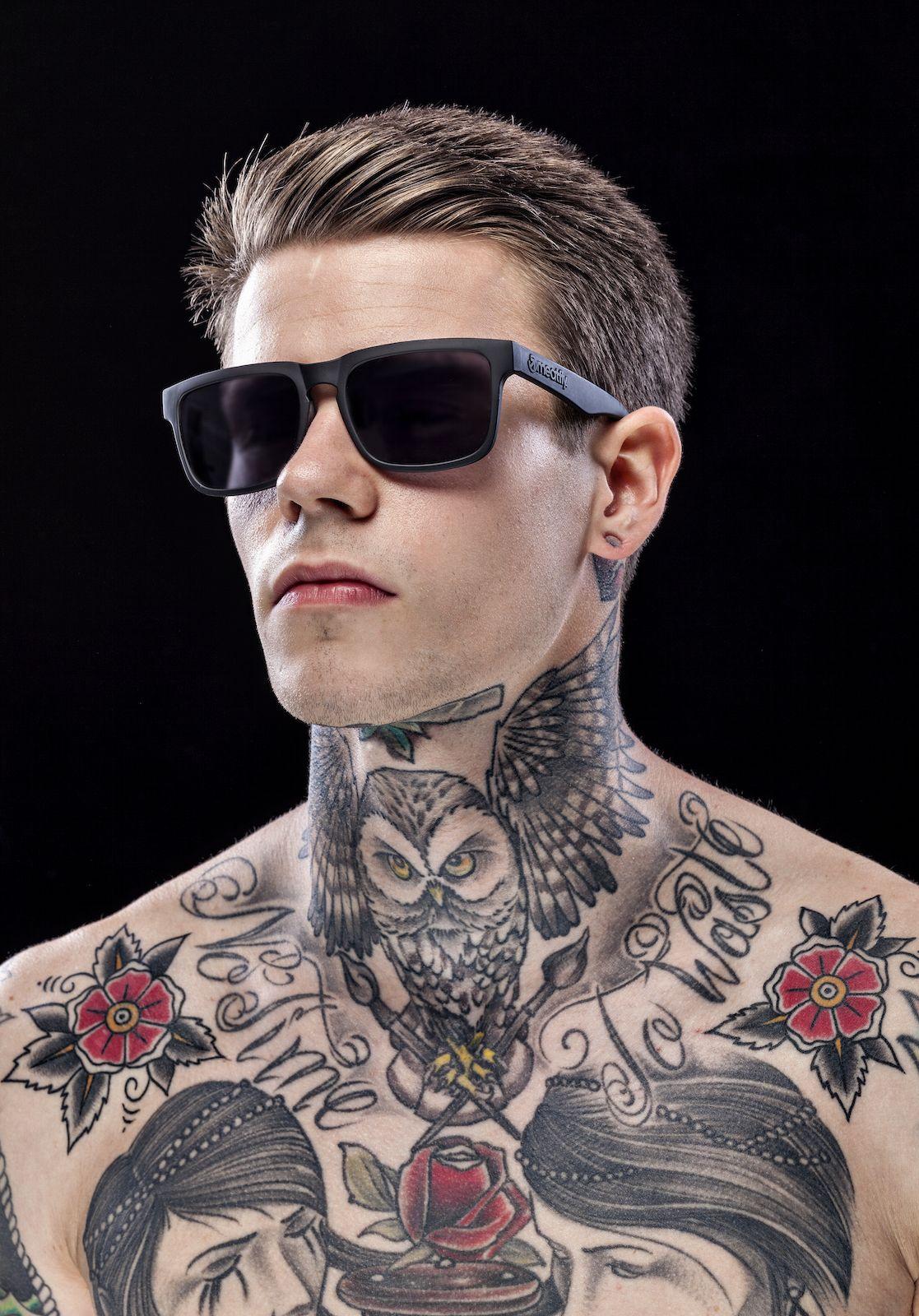 Jaw Line Tattoos: MEATFLY SUNRISE SUNGLASSES 2015 Model: Lenert