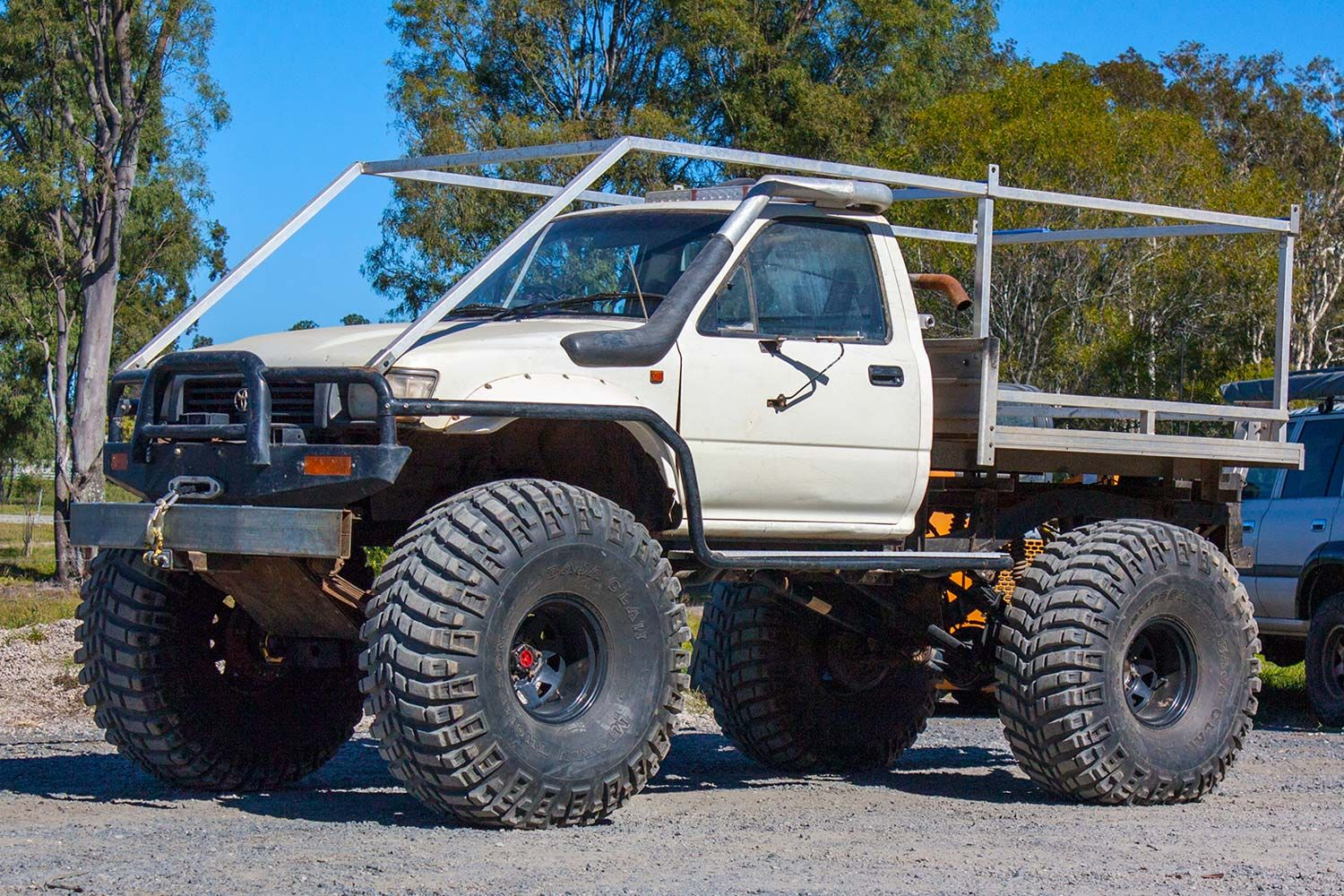 The Swamp Buggy Is Back The All 4 Adventure Toyota Hilux Is Back