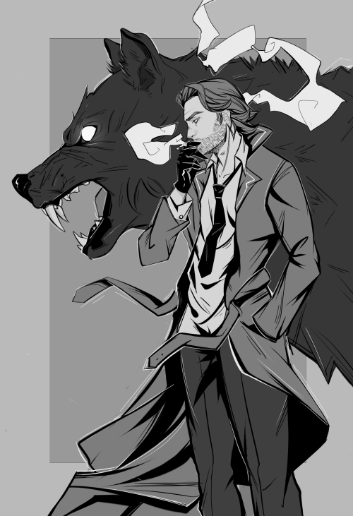 The Wolf Among Us Big Bad Wolf In 2019 Character Art