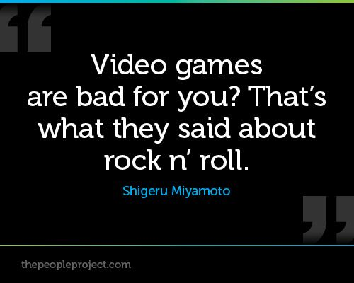 video games why they are good Why video games are good for you why, they're the greatest boon to intellectual development since video shooter games are a good way of recruiting real.