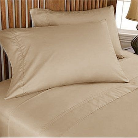 300 Tc Brand New 100 Egyptian Cotton 2 Piece Elegant Pillow Covers 300 Thread Count Twin Taupe Solid By Pearl Duvet Sets Elegant Duvet Covers Contemporary Bed 300 thread count egyptian cotton sheets