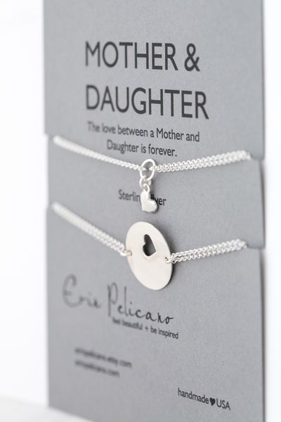 Sterling mother daughter bracelet set mother daughter for The bond between mother and daughter