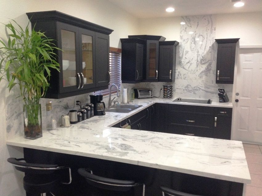 due to the process you can bet your cultured marble kitchen countertops are going