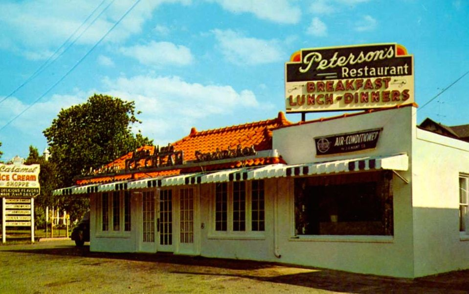 Peterson S Restaurant In Red Bank Nj 1960 S Vintage