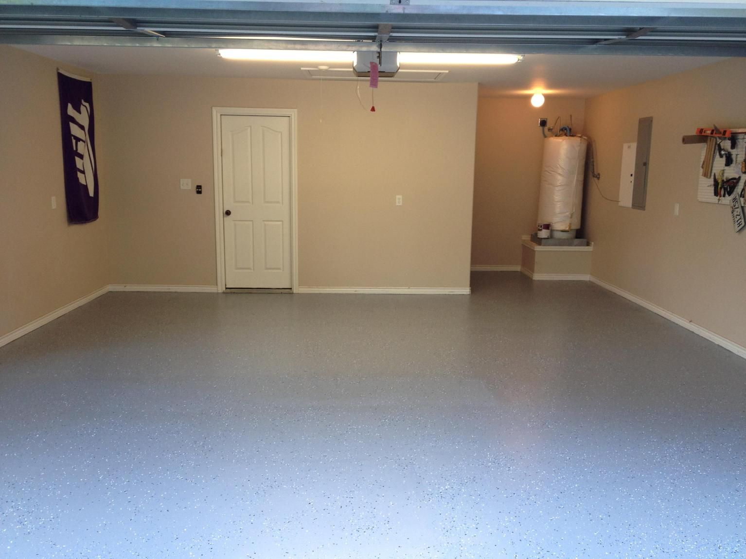 30 Perfect Basement Concrete Floor Paint Color Ideas Painted