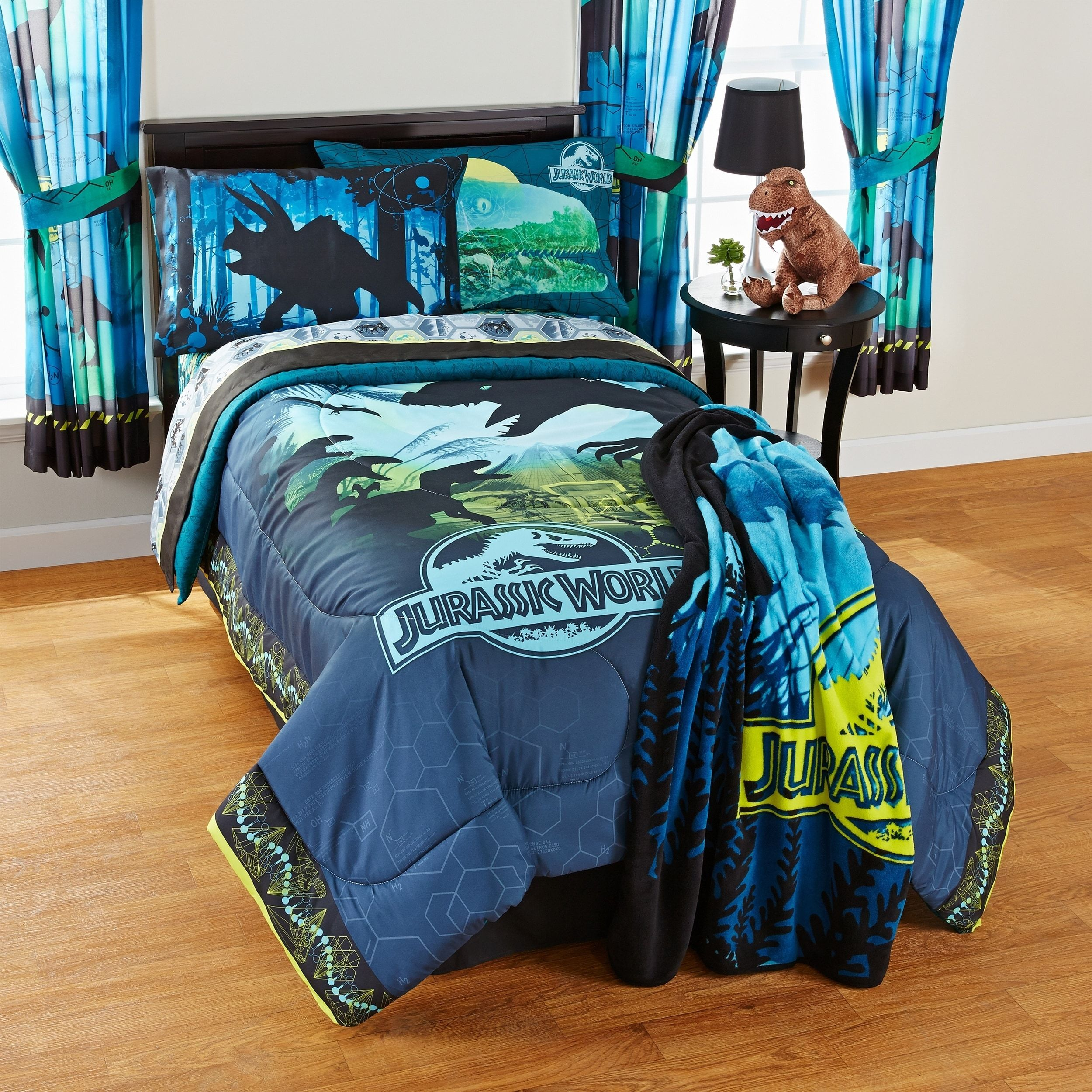 Jurassic World Biggest Growl 5 Piece Bed In A Bag Set Full 5