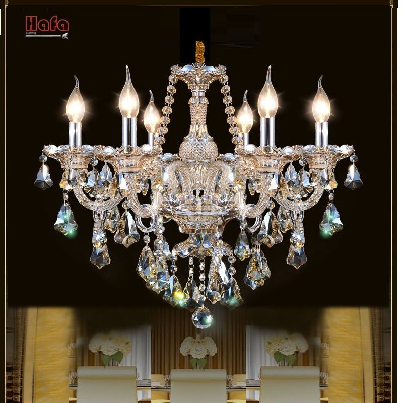 Free Shipping Luxury Modern Crystal Chandelier for