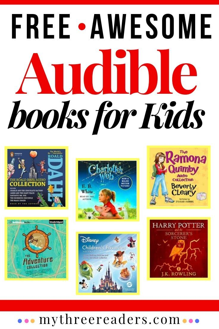 Free Audible Books for Kids! The Complete Guide to All Things Audible