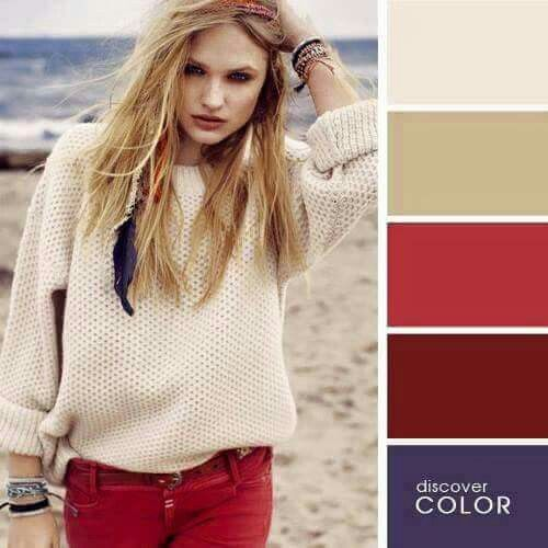 دليل تنسيق الالوان 1 Colour Combinations Fashion Color Combinations For Clothes Colorful Fashion