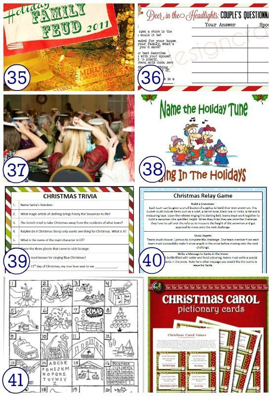 Work Christmas Party Ideas For Adults Part - 33: Great Holiday Games For Adults