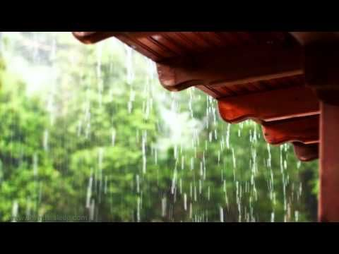 I Love The Sound Of Rain On A Tin Roof It Reminds Me Of Sleeping In My Parents Camper As A Kid This Video Puts Me To Slee Sound Of Rain