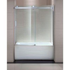 Trackless Shower Doors For Bathtubs