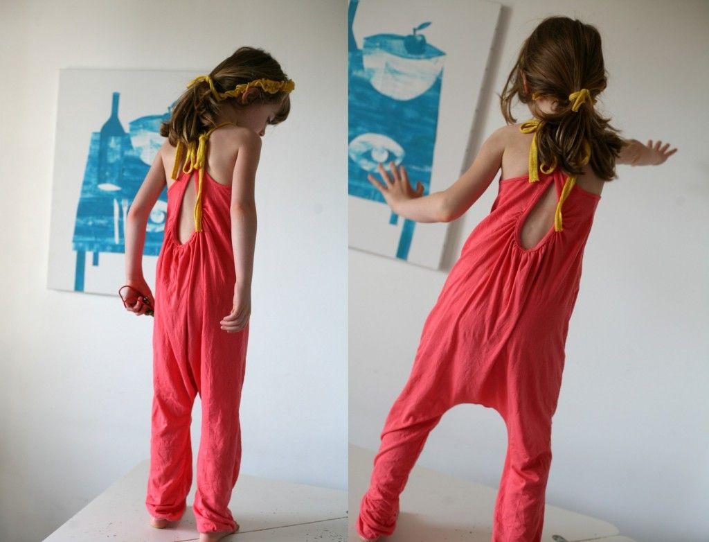 combinaison burda 05 2013 mon blog jaune coton pinterest couture combinaison enfant et. Black Bedroom Furniture Sets. Home Design Ideas