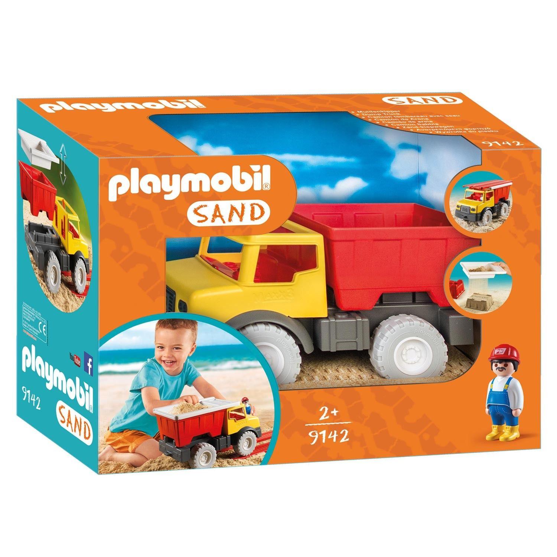 breng met je playmobil figuren het zand naar de juiste