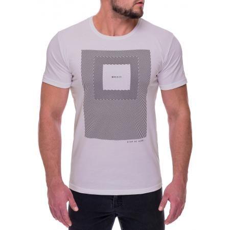 Pánske moderné tričko s dizajnovým potlačou