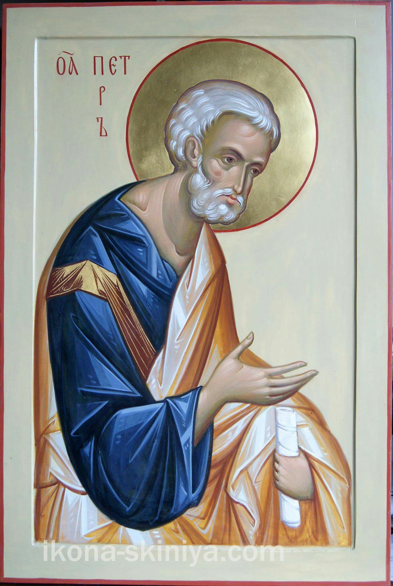 St Peter the Apostle / By hands of Daineko www.ikona