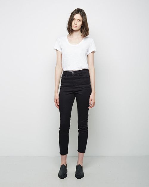 25f761b559ea Top to bottom  Françoise Hardy and Serge Gainsbourg, Acne Studios   Needle  Wet Cash Jean, Acne Studios   Skin 5 Raw Jean, Rafa Casellis, ...