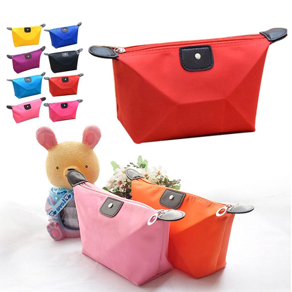 Details about Travel Cosmetic Bag Makeup Case Handbag