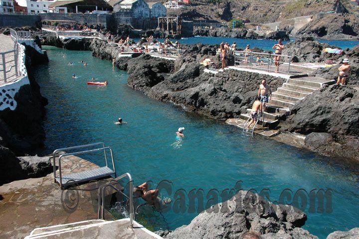 Piscinas naturales tenerife playas garachico piscinas naturales pueblos costeros de - Piscinas naturales galdar ...