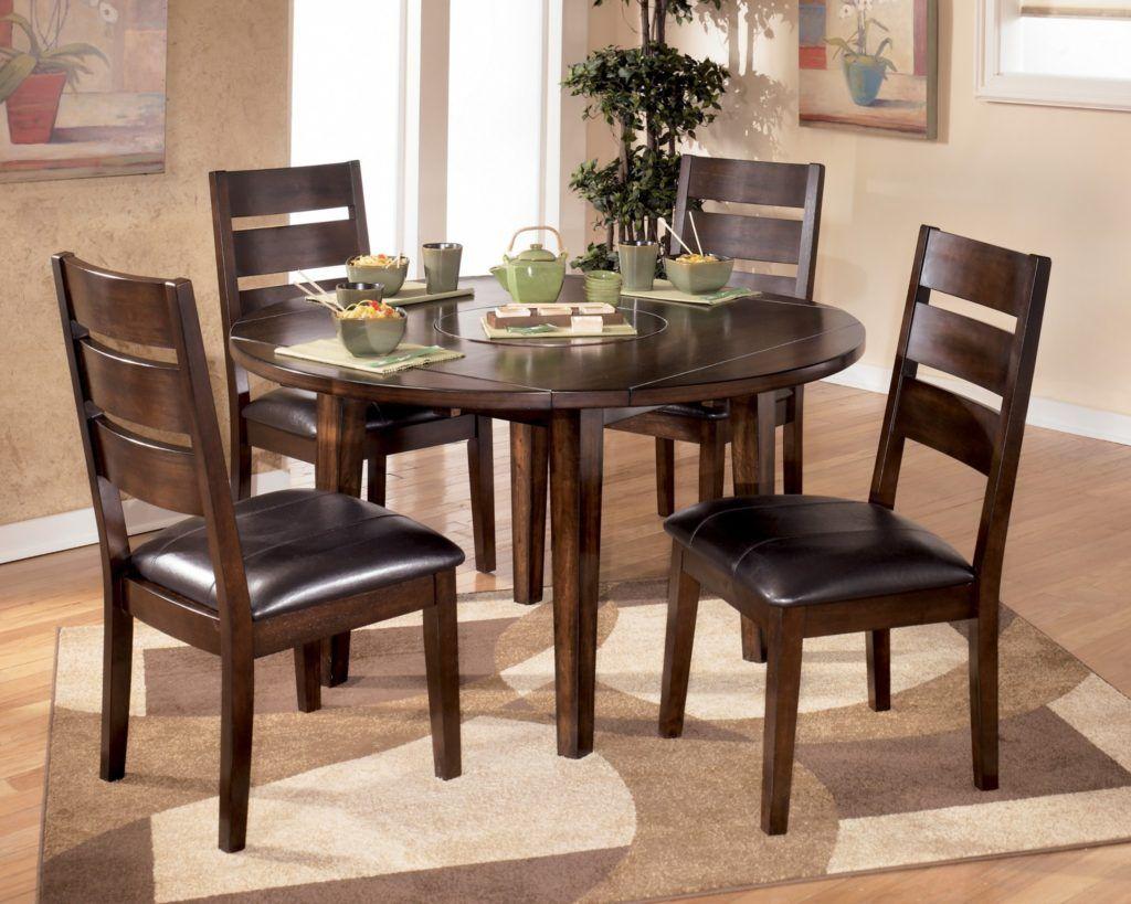 Runde Küche Tisch Und Stühle Für Die Kleine Familie Esszimmer