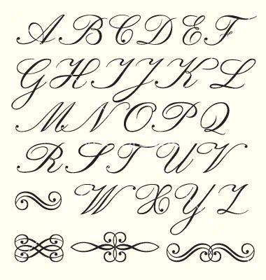 Image result for OCTAVIA SCRIPT | Fontastitc | Calligraphy fonts, Calligraphy alphabet, Cursive fonts