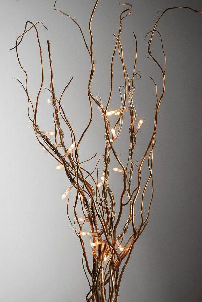 Lighted Willow Branches Save 48 Rice Lights Lighted Centerpieces Branch Decor