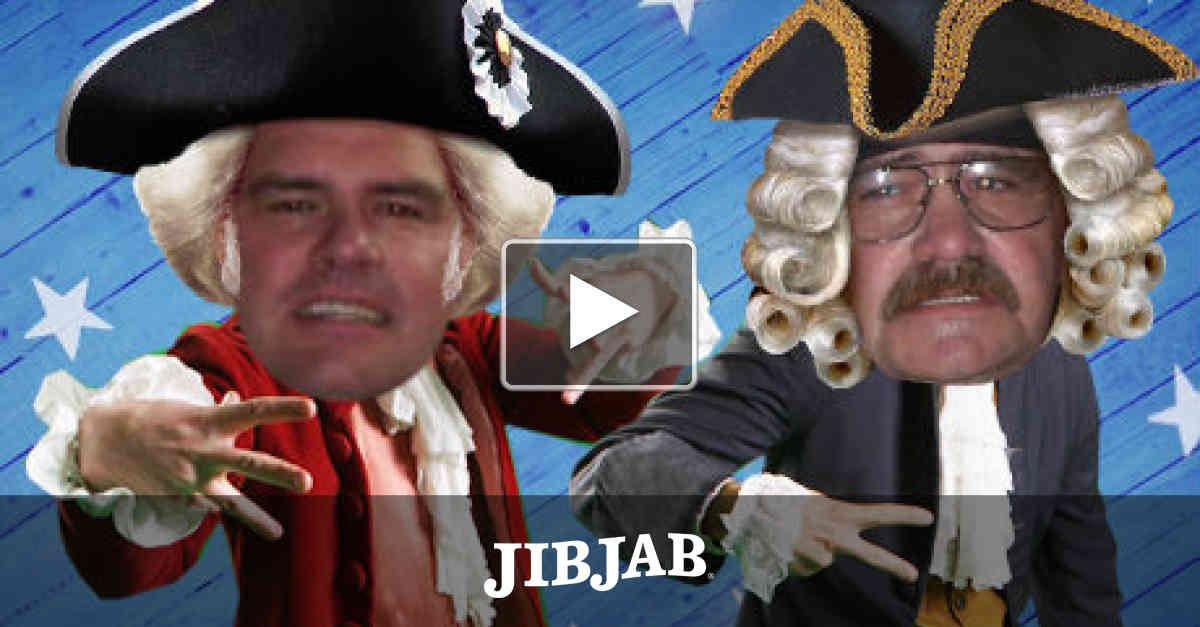 """Ten years ago we brought you """"Founding Fathers"""", a phat rap with Benjamin Franklin, Thomas Jefferson and George Washington. Now we've rebooted the rap so you and a friend can star in it! What's phatter than that"""