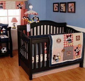 Baby Boy Mickey Mouse Allstar Sports Baseball Basketball Soccer