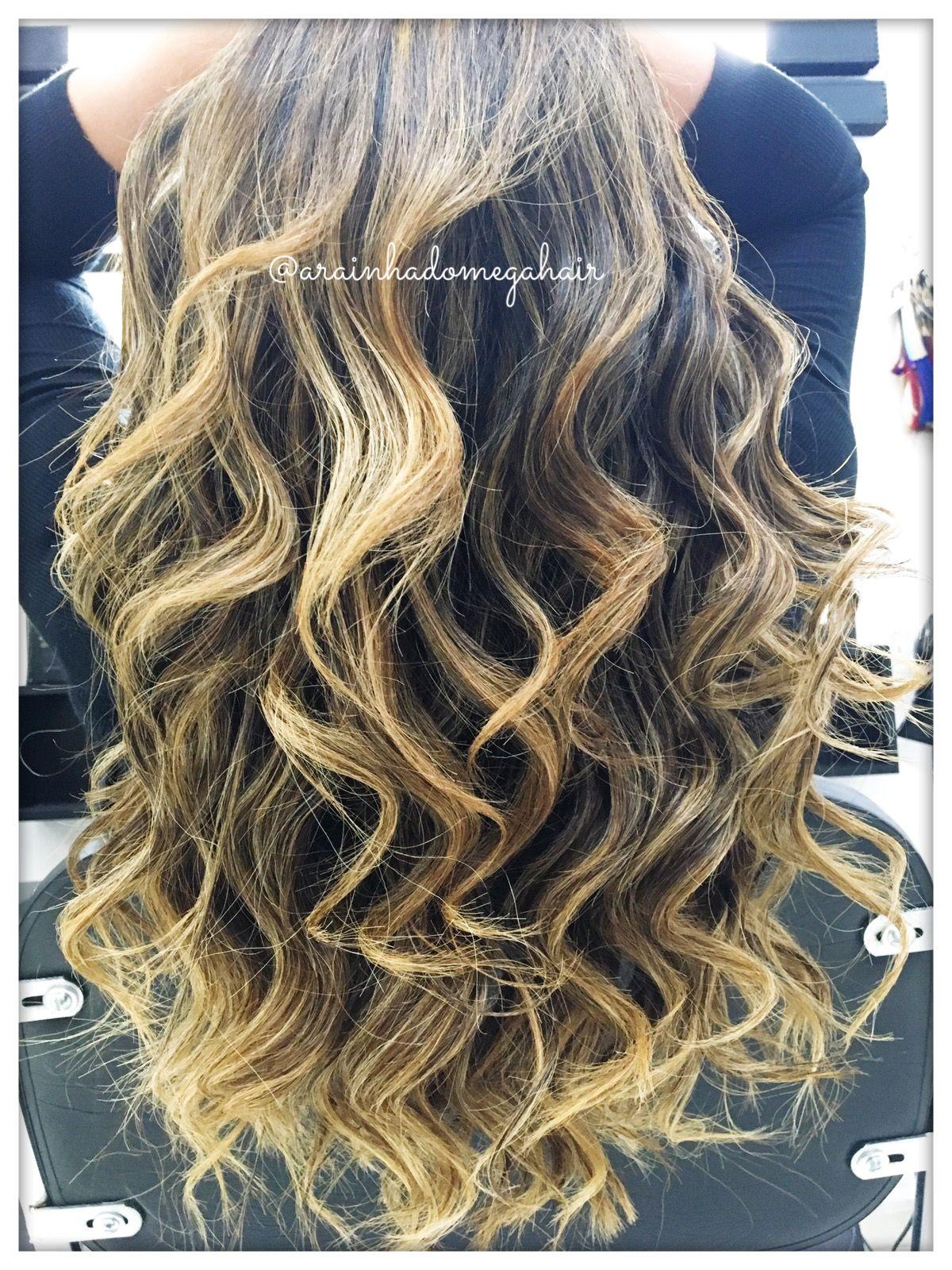 Mega hair no método ponto americano WhatsApp 11981176289