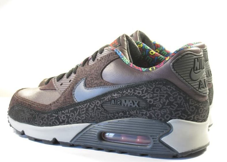 uk availability 52bc5 48016 Nike 2007 Air Max 90 Alphabet Pack
