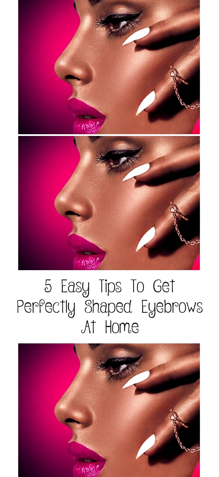 5 Easy Tips To Get Perfectly Shaped Eyebrows At Home Learn