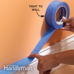 Tips For How To Use Painter S Tape Painting Tips Painters Tape Diy Home Improvement