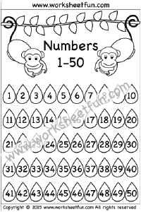 image about Printable Numbers 1 50 known as Variety Chart 1-50 Range Chart Absolutely free printable