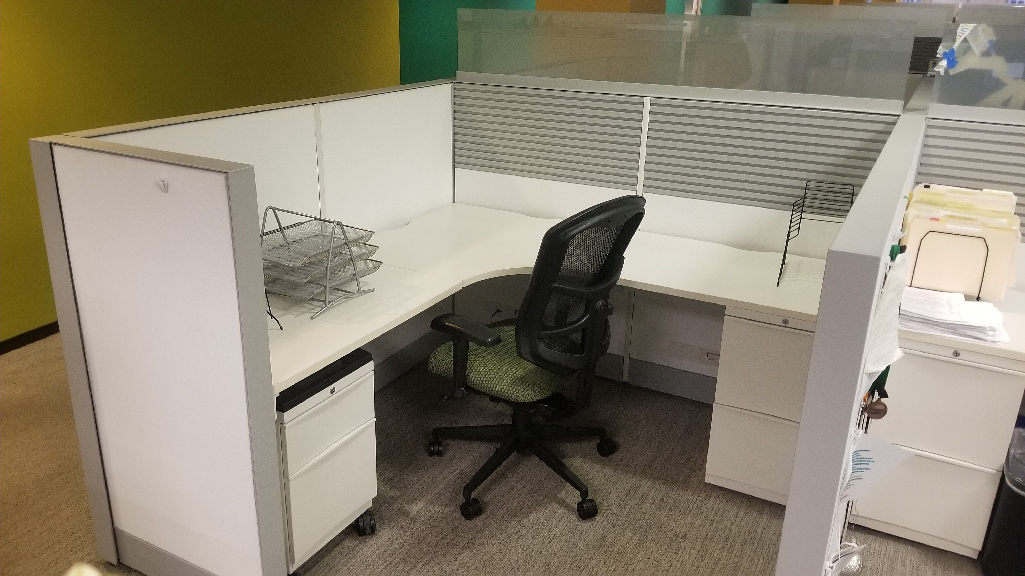 Cheap Office Workstations | Office desk for sale, Used office