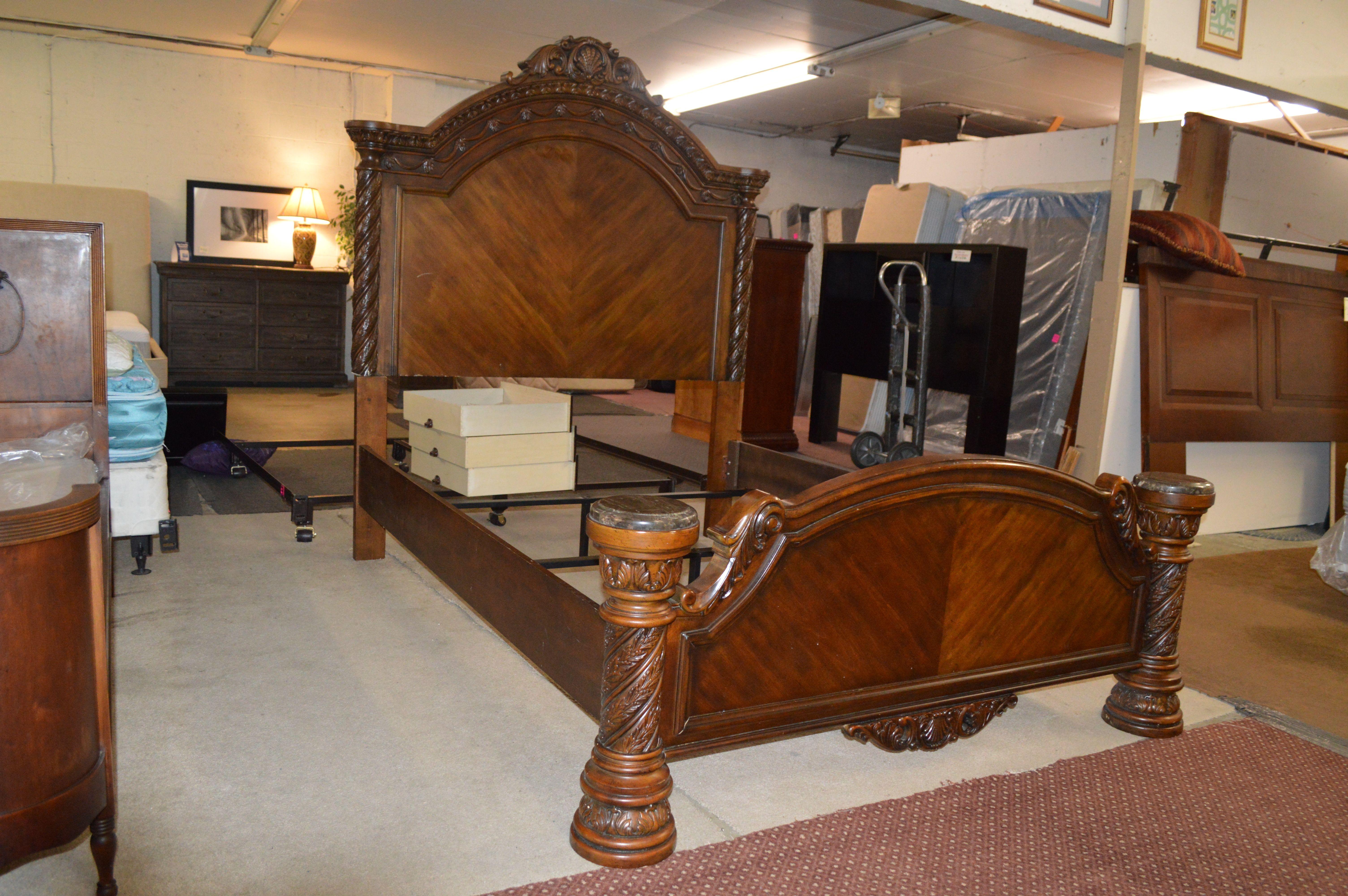 Queen Bed Frame Queen bed frame, Queen headboard, Bed frame