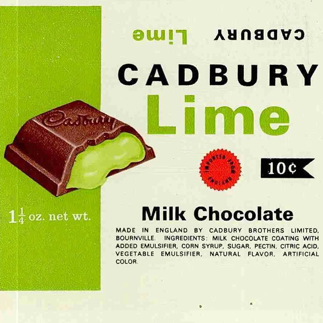 CADBURY registered as trademark in the US on this day in 1907 ...