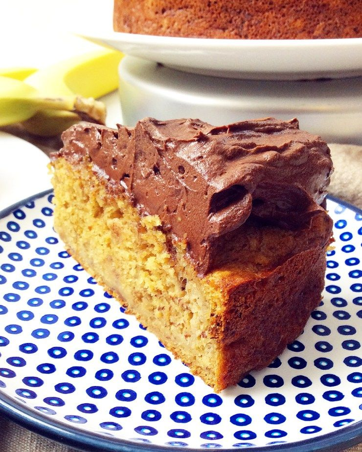 Moist Banana Cake Recipe With Oil: Maple Olive Oil Banana Cake With Chocolate Avocado