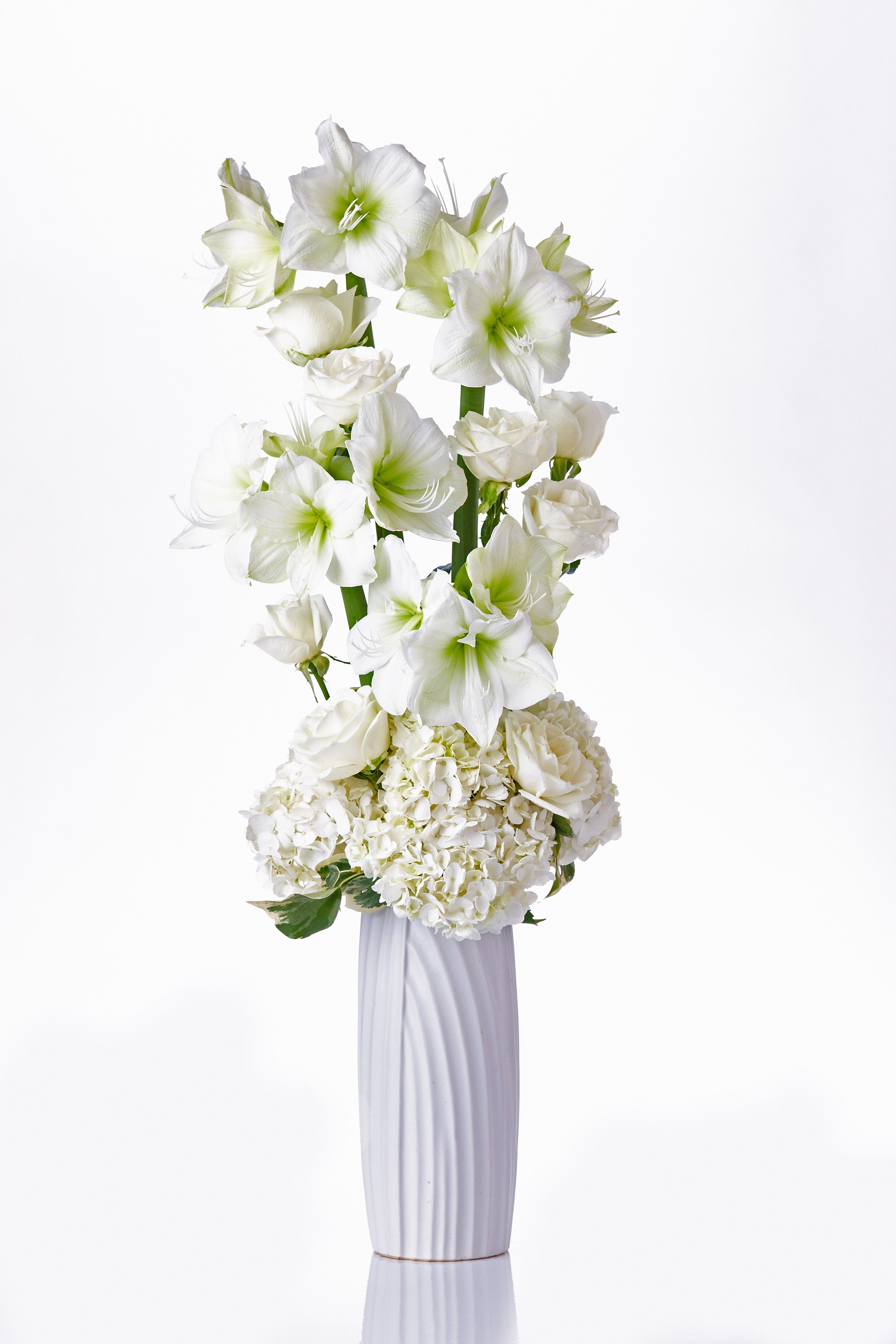 white floral arrangements Google Search (With images