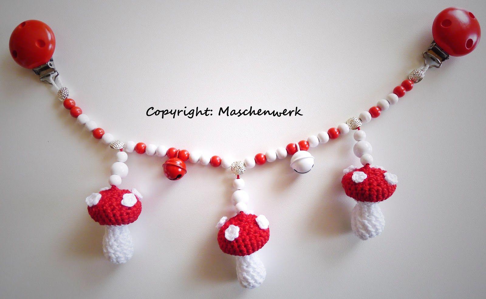 Kinderwagenkette Häkeln Häkelanleitung Crochet Baby Pattern Baby