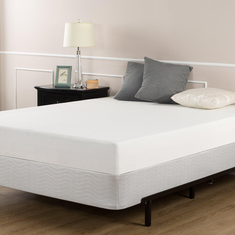 Sleep Master 8 Inch Memory Foam Mattress Set With Bi Fold