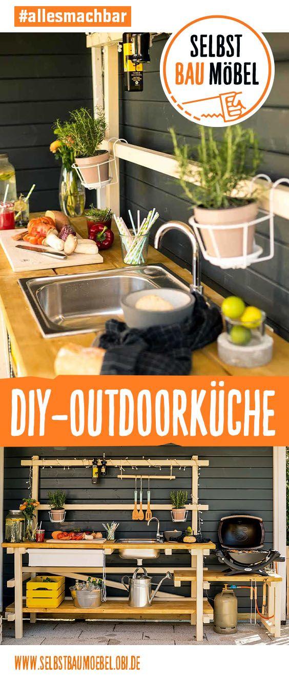 DIY-Outdoorküche: Für die ultimativen Grillfans  #vorgartenanlegen