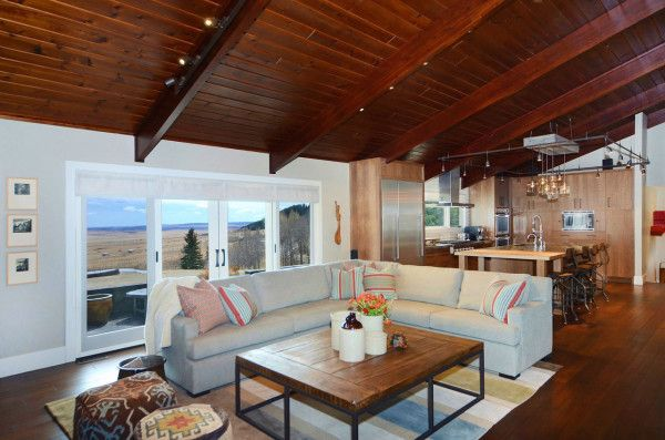 Contemporary Ranch Interior Design By Johnson Associates Ranch Style Homes Modern House Design Townhouse Interior