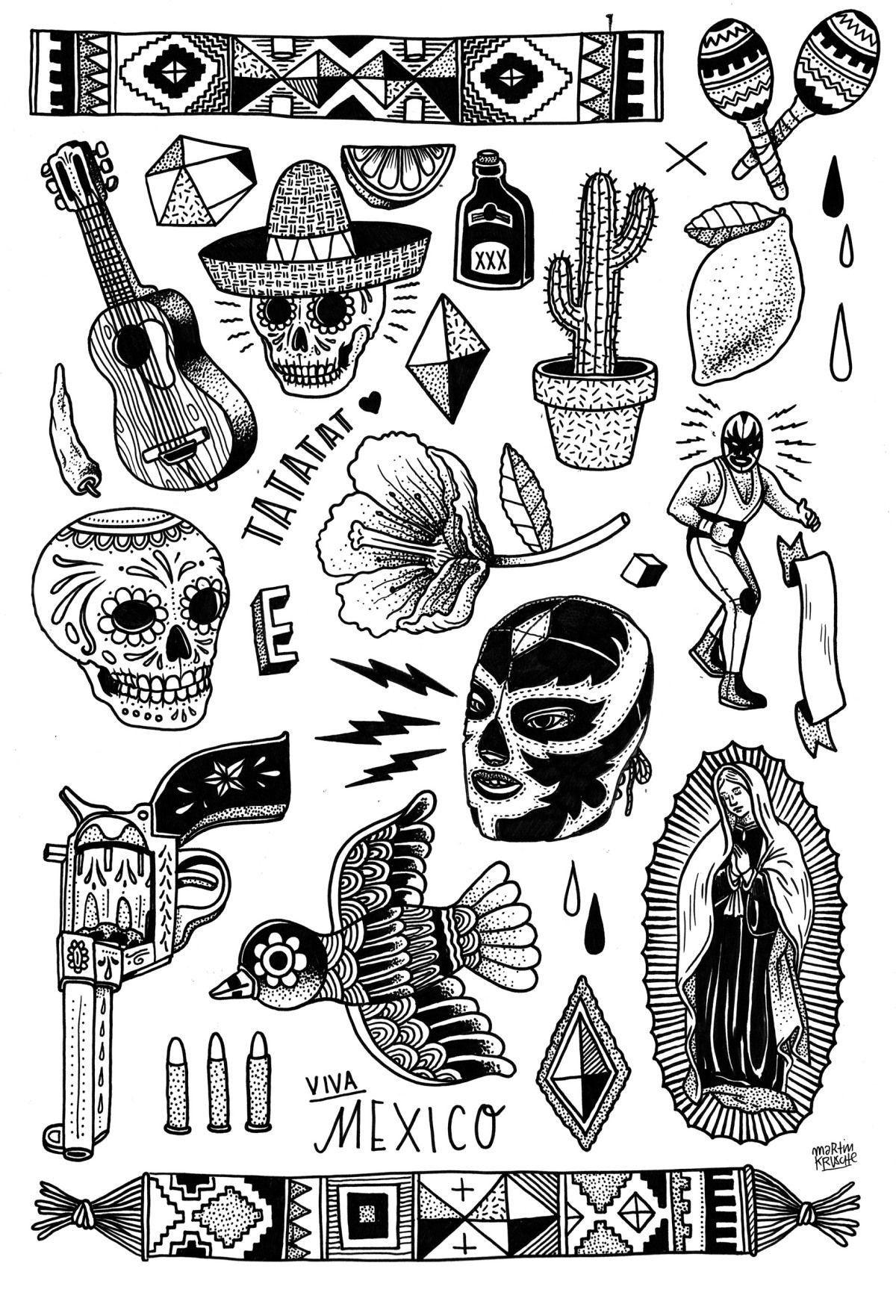 420 Mexican tattoo ideas | mexican tattoo, aztec tattoo