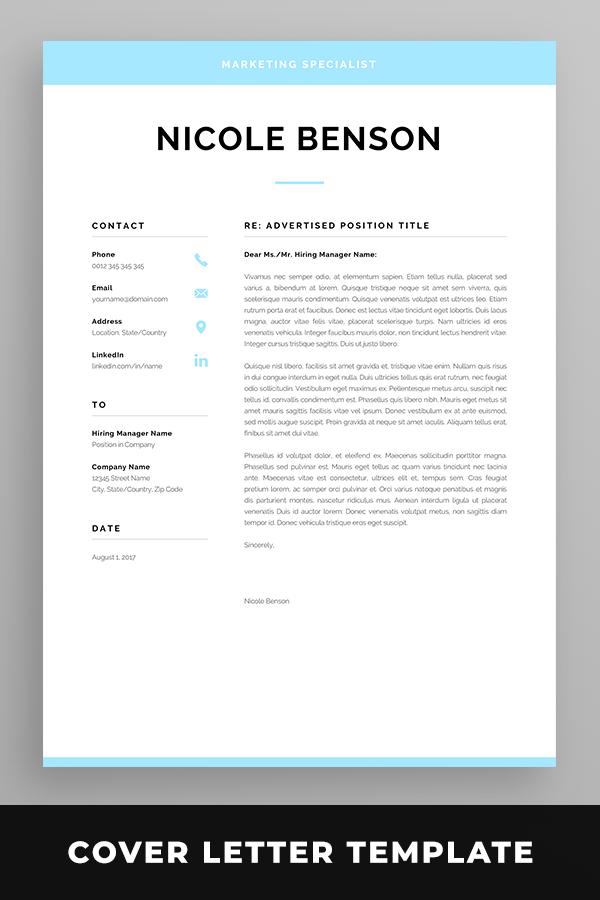 Creative Resume Template Modern Cv Design For Word Instant Etsy In 2020 Resume Cover Letter Template Cover Letter For Resume Creative Resume Templates