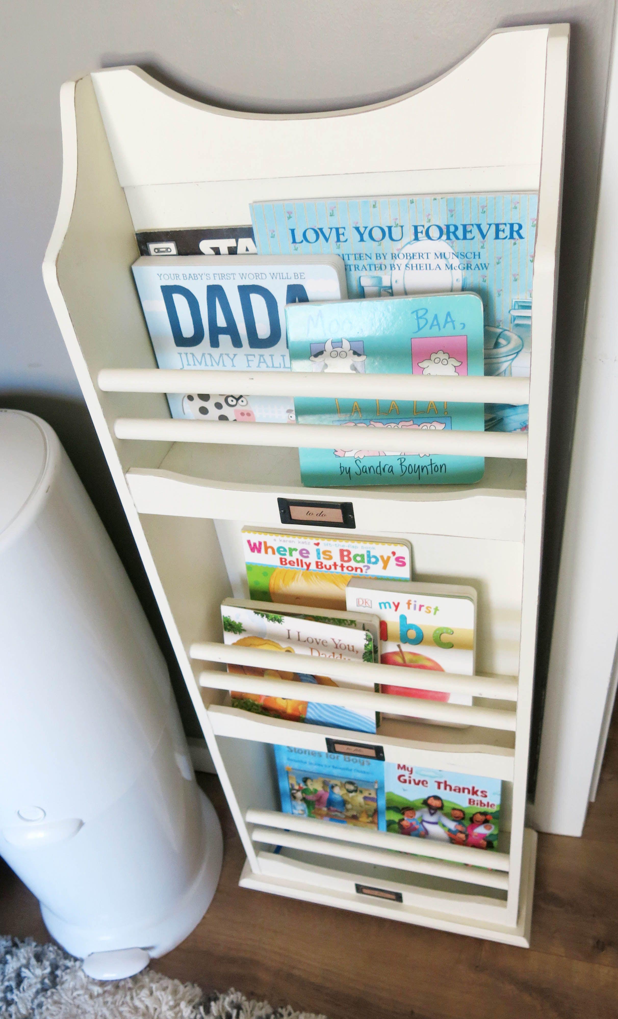 Creative Way To Store Books In Nursery - Baby Books